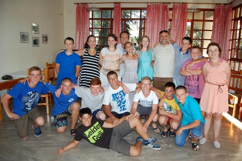 С нашими греческими друзьями